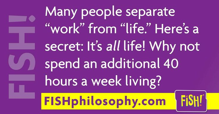 Live it up! with #FISHphilosophy via (@The FISH! Philosophy) and #Propellergirl                                                                                                                                                                                 More