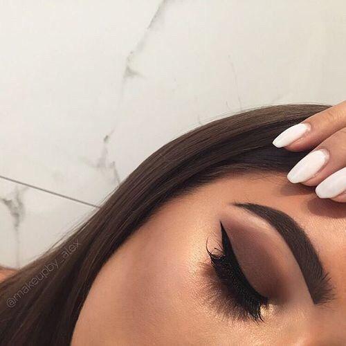 Imagen de makeup, brown, and beautiful