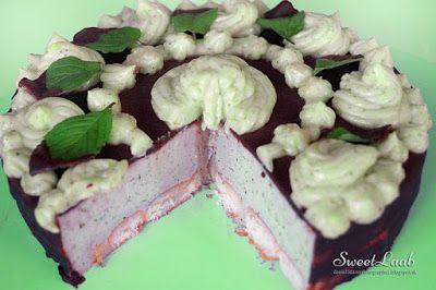 Sunday, July 5, 2015 Minty chocolate unbaked tart / Mätovo čokoládová nepečená torta / Tarte sans cuisson au chocolat à la menthe