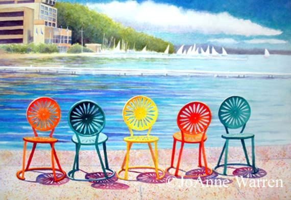 Musical chairs a limited edition reproduction of the for Terrace uw madison