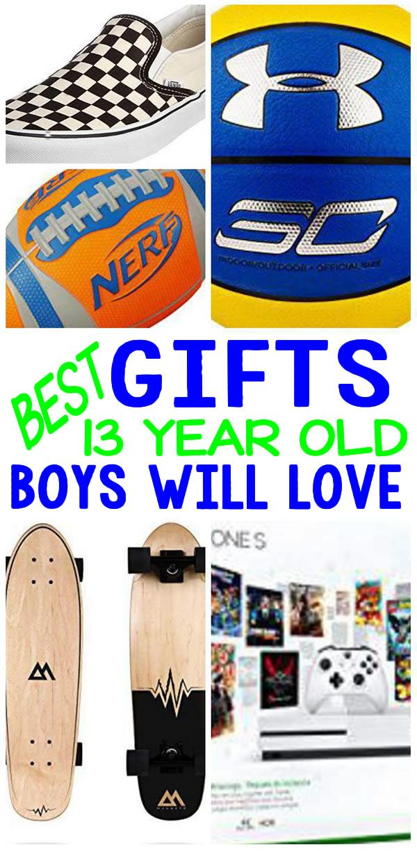 Best Gifts 13 Year Old Boys Will Love Coolest Gift Ideas For A 13th Birthday Christmas Holiday Or Anytime Of The Great Present Not Only
