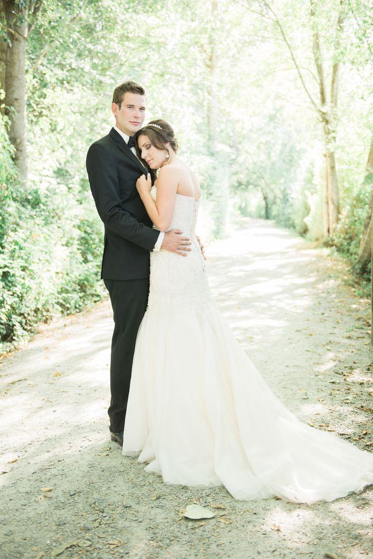 Bride + Groom Portrait- Deas Island Park