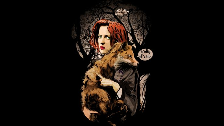 scully and fox is a T Shirt designed by artofkaan to illustrate your life and is available at Design By Humans