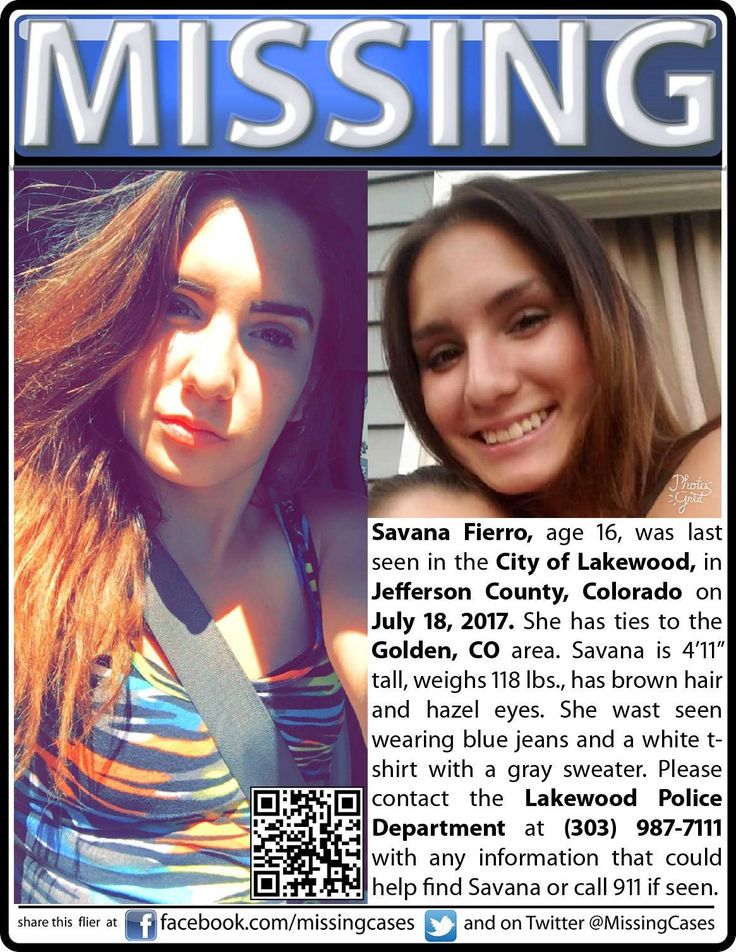 Find Missing Savana Fierro!