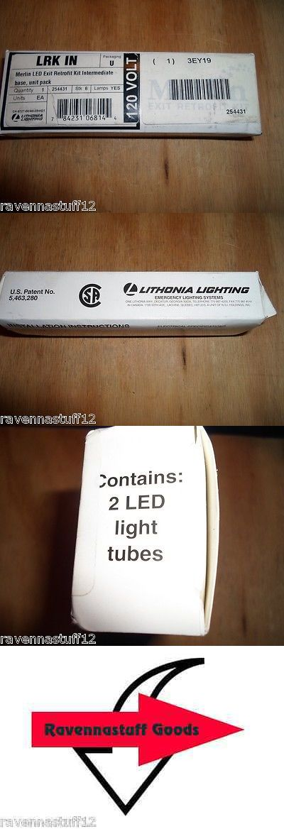 Other Vintage Electronics: Lithonia Lighting 3Ey19 Bulbs For Emergency Lighting (New In Box) Box Of 2 BUY IT NOW ONLY: $40.0