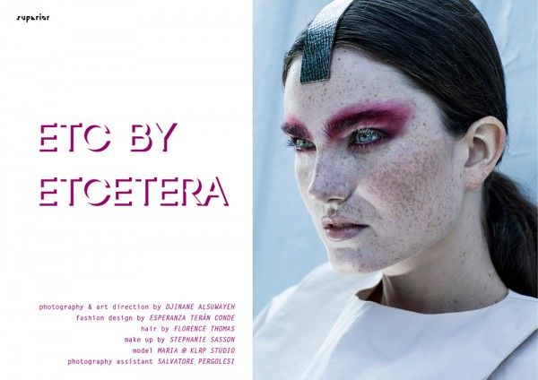 ETC BY ETCETERA - Fashion Editorial by Djinane Alsuwayeh