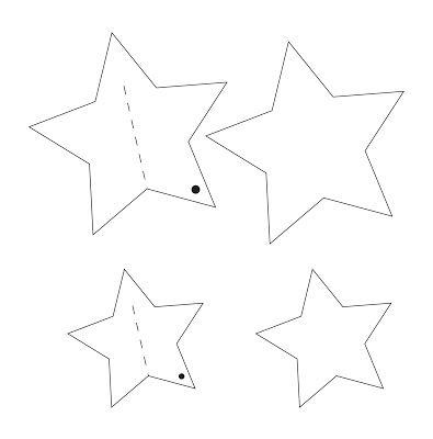 by Blikfang: DIY Juleklip: Stjernepynt / DIY Star Ornament