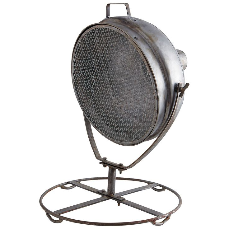 Metalen wendbare PHARE lamp H 60 cm