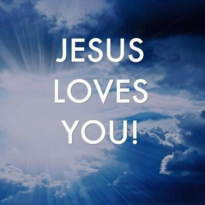 jesus, God love u more than anyone els could ever think of