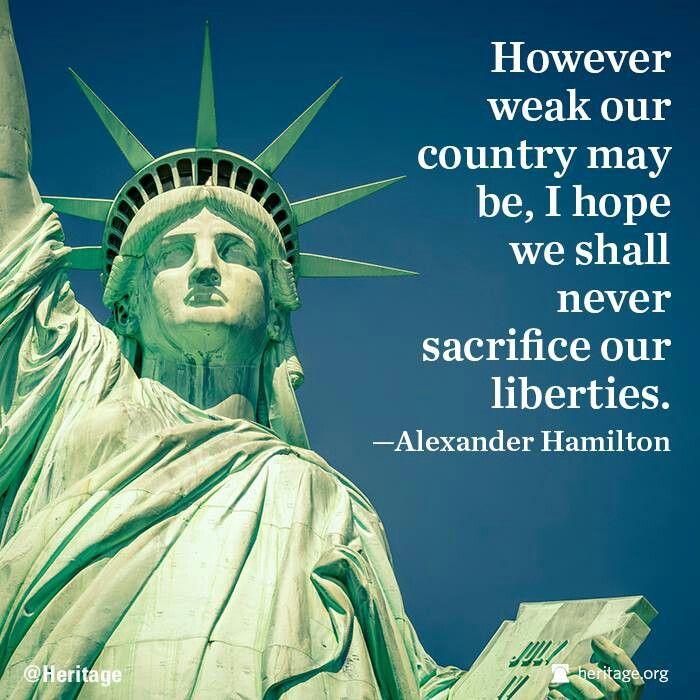 Alexander hamilton and his views and principles