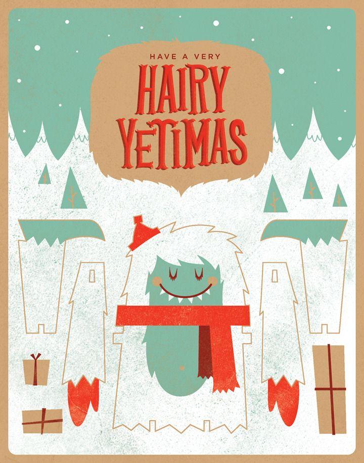 Happy Holidays Yeti
