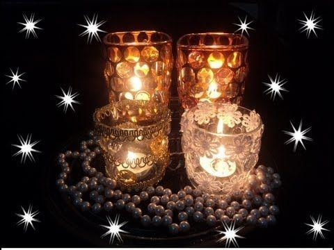 Fala ES - Dica de artesanato: aprenda a fazer velas decoradas para o Natal - YouTube