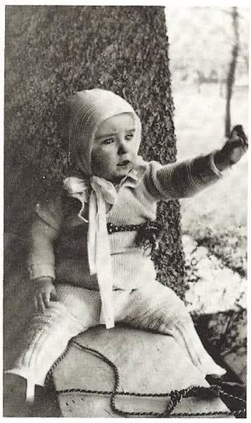 Montgomery Clift age 22 months in 1922 in Nebraska