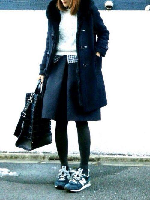 大人可愛いアウターならこれがおすすめ♪冬定番のダッフルコートの着こなし術 - Yahoo! BEAUTY