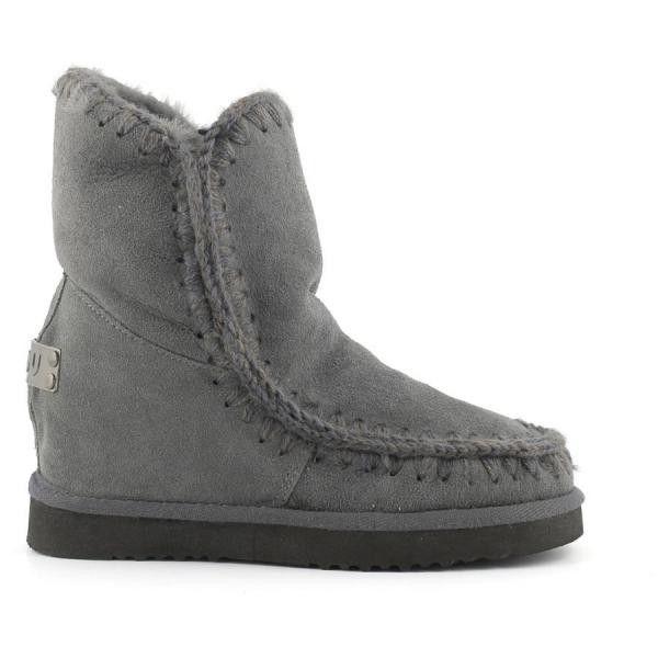 MOU Eskimo Wedge Short Boots Women Iron - MOU