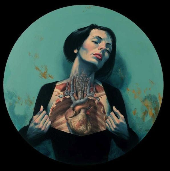 love it | danny quirk artwork | Anatomical paintings of Fernando Vicente. | 123 Inspiration
