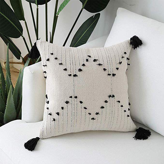 Throw Pillows all found on Amazon