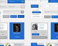 Free download: Flat / Skeuomorphic UI kit http://www.webdesignerdepot.com/2013/09/free-download-flat-skeuomorphic-ui-kit/