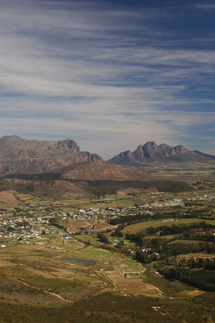 Lovely Franschoek valley