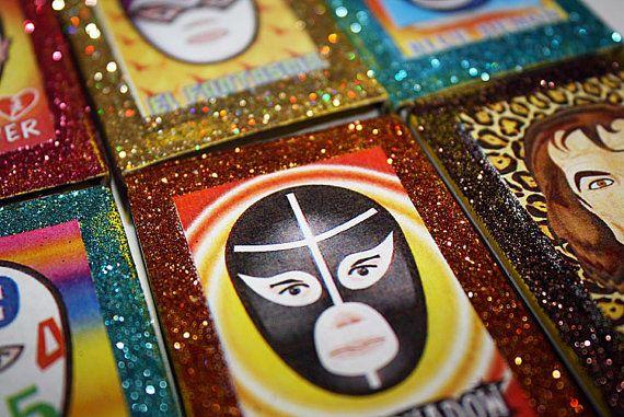 Mexican Wedding Favors Luchador Wrestler Lucha Libre by MyMercado