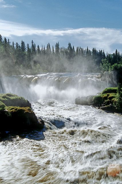 Pisew Falls Provincial Park by Travel Manitoba, via Flickr