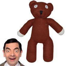1 peça 7 '' 18 cm Mr Bean Teddy Bear animais Stuffed Plush Toy boneca figura Brown crianças varejo grátis frete(China (Mainland))