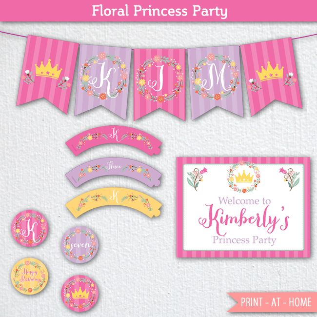 Free Princess Party Printables , these Free Princess Party Printable are easily…