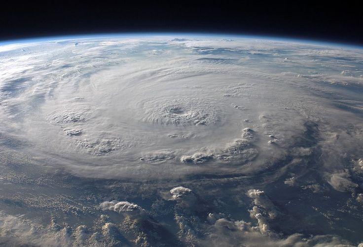 2007-es Felix hurrikán az űrből fényképezve