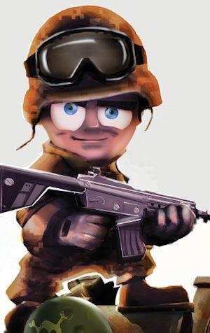 È arrivato il bellicoso Tiny Troopers! Giochi per PC Videogiochi Video Games PC PlayStation 2 Xbox 360 Wii PS3 GameCube PSP DS GBA PS2 PlayStation 3