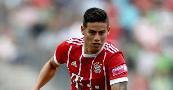 "James Rodriguez admits he found it ""very tough"" to leave Real Madrid, but is determined to dictate his own future at Bayern Munich. www.18onlinegame.com"