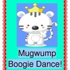 """""""MUGWUMP BOOGIE DANCE!""""  Need a good GROUP GAME for an indoor-play day?  Get out your rhythm sticks, shakers, or clappers, and have a Mugwump Boogie Dance!  Your kids will dress up a big stuffed animal as the 'Mugwump Boogie Queen'.  Then they will 'keep the beat' and create all the funny rhymes from context clues!  Use items from your dress-up area for your 'Queen'!  Laugh with the student-created rhyming language -- the best kind!  (6 pages) Rainy-day fun from Joyful Noises Express TpT.  $"""