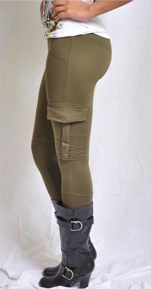 Cargo leggings for Rocksteady running costume