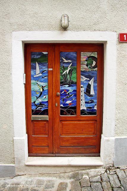 door in Slovenia