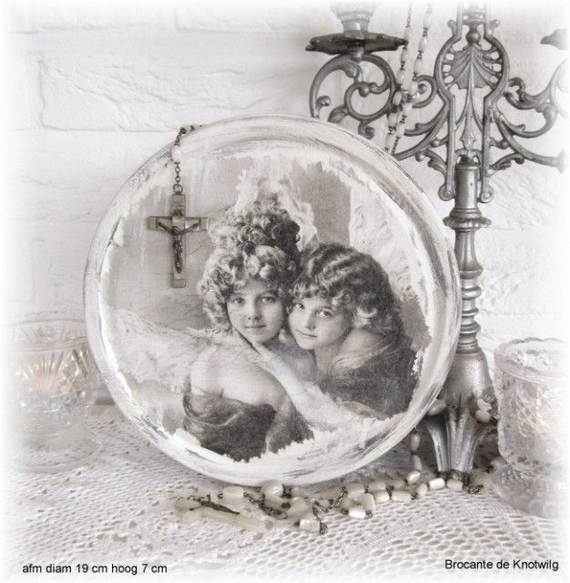 Vintage doos Brocante de Knotwilg  euro 6,50