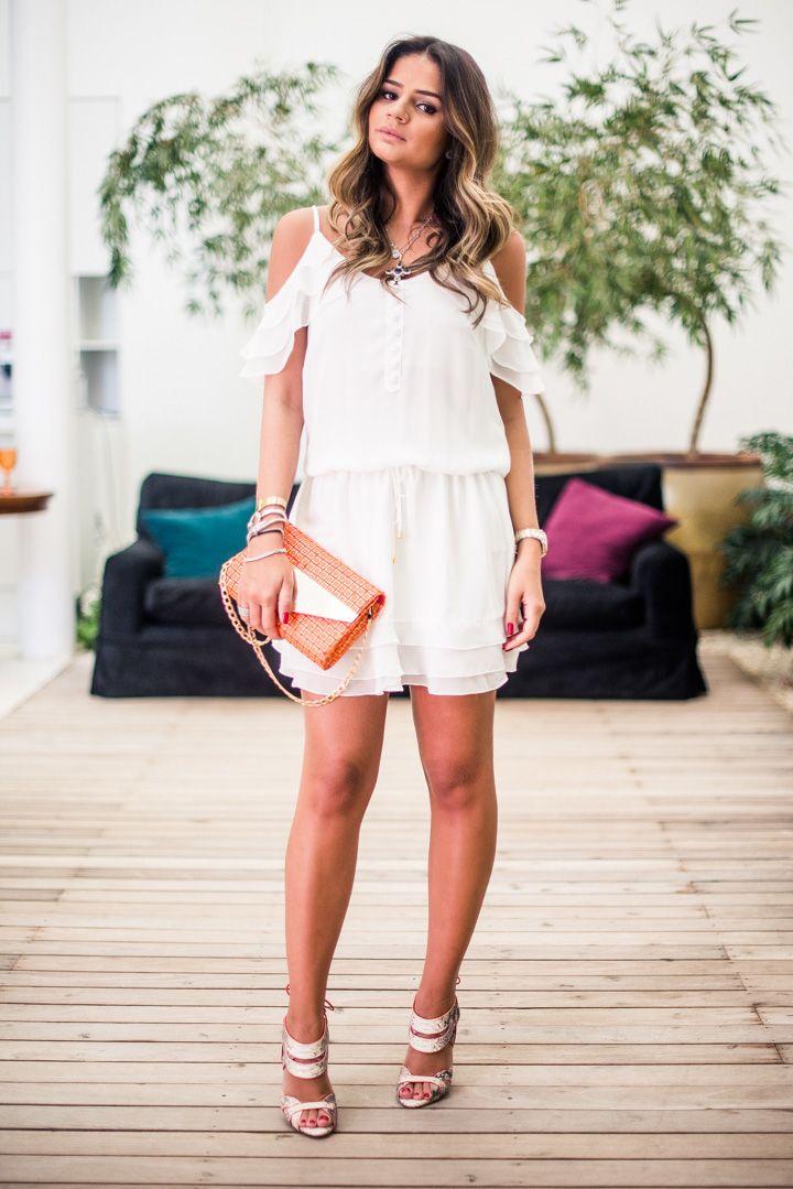 White Dress - Thassia Naves