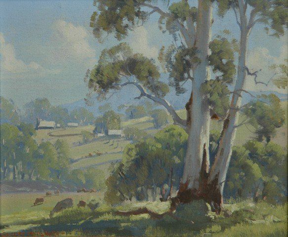 Frank Mutsaers,,, Morning Clouds over Healvilles, Victoria...