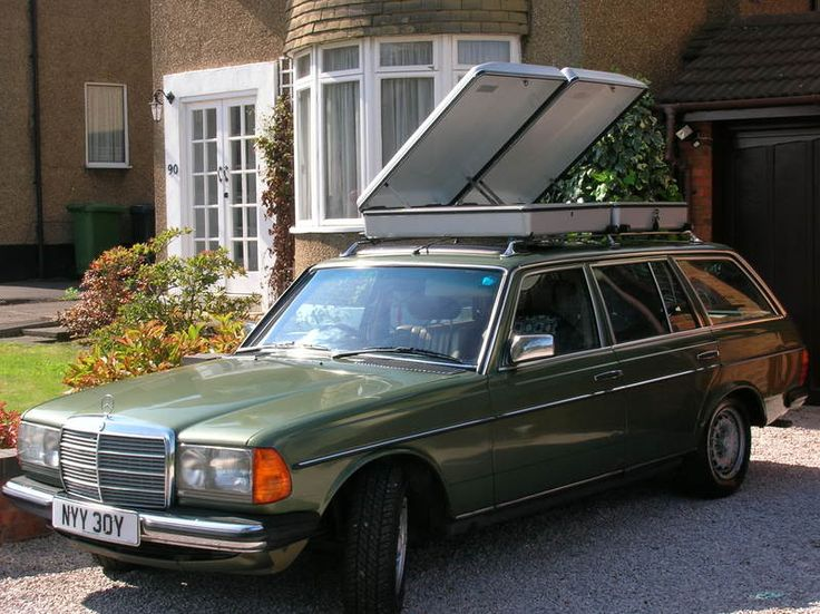 17 best images about mercedes s123 t on pinterest for Mercedes benz roof box