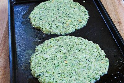 Kalyn's Kitchen®: Recipe for Zucchini Crust Vegetarian Pizza Margherita (on the grill or in the oven)