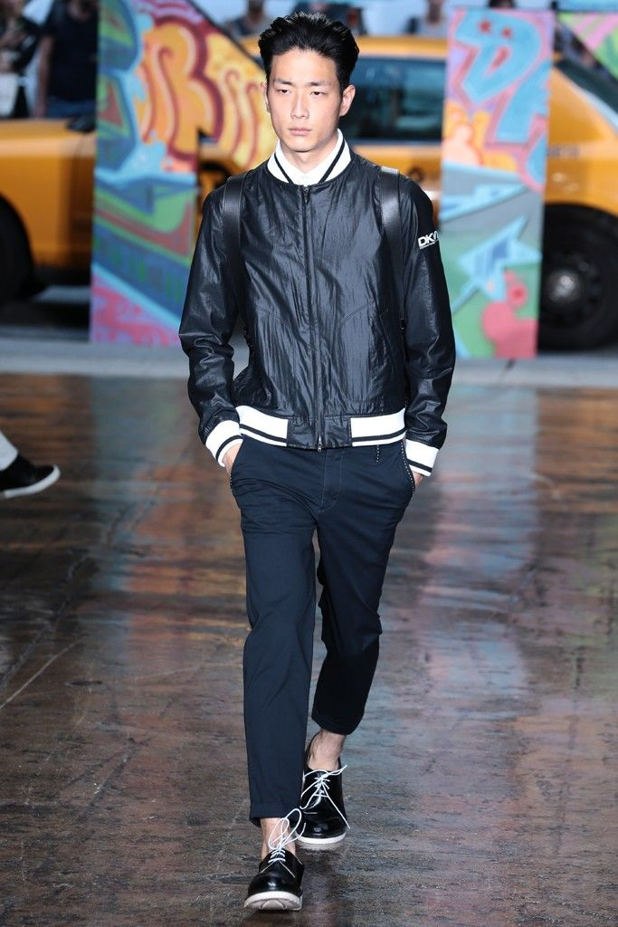 DKNY Men's RTW Spring 2014 - Slideshow