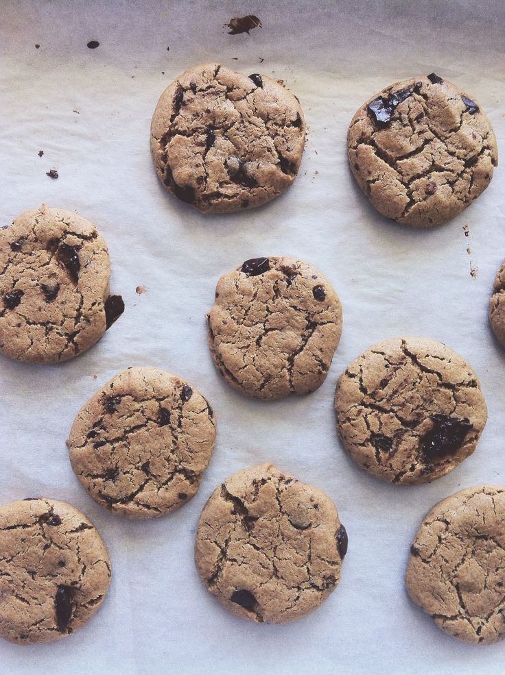 Chickpea Chocolate Chip Cookies - Recipe Adaptation on The Rusty Skillet Blog