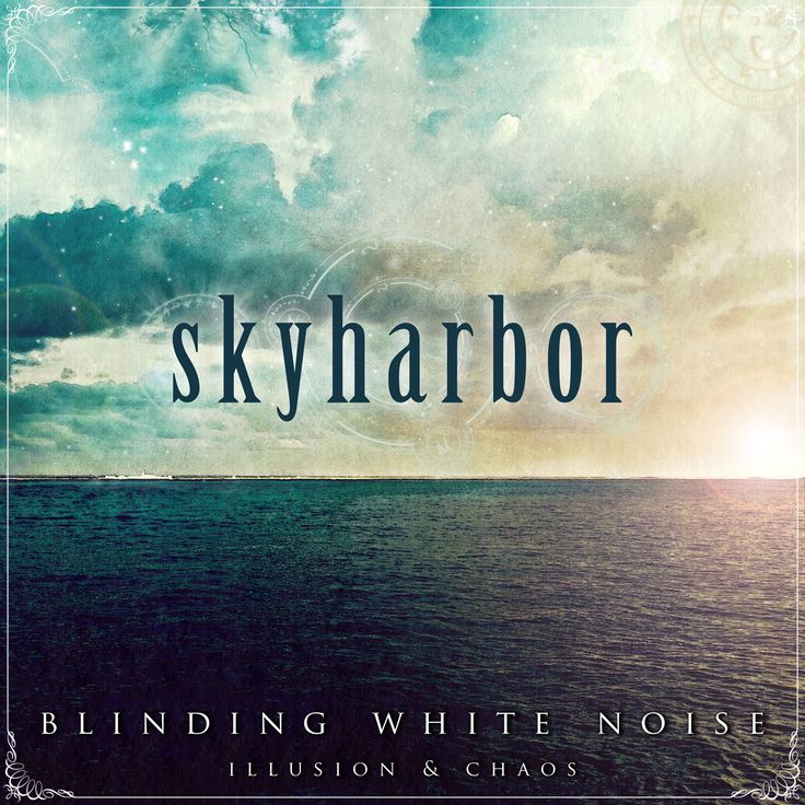 Album art for Skyharbor.   Great to know when your first ever work is also a major international release.
