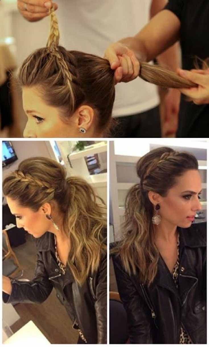 how to get a bouncy 50 ponytail