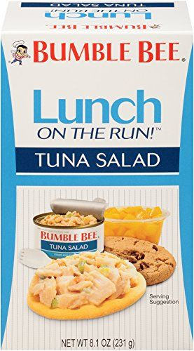 Bumble Bee Foods Lunch On The Run Tuna Salad Kit 81Ounce Packages Pack of 8 >>> For more information, visit image link. (Note:Amazon affiliate link)