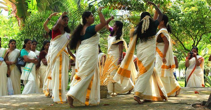 Visuals of Onam festival celebration in Kerala!
