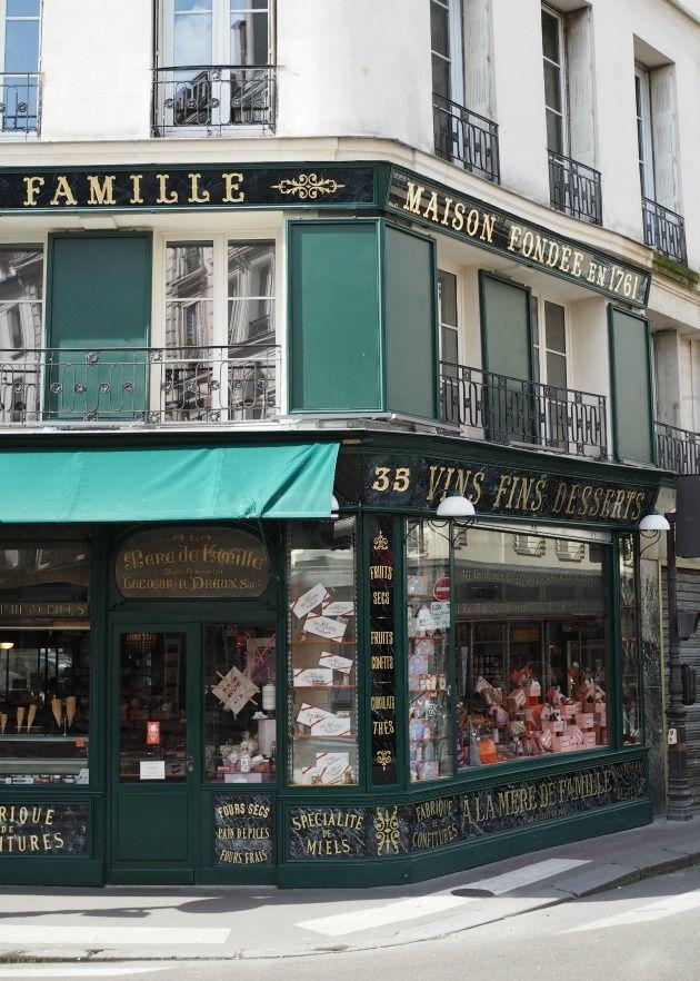 Parisian sweet shop