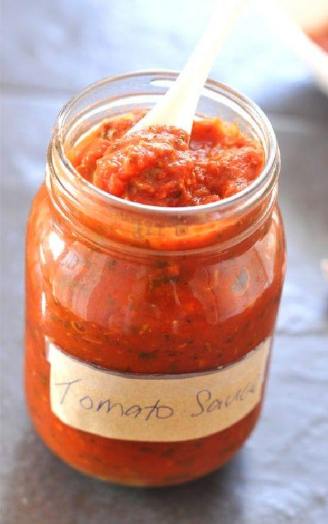 Low FODMAP and Gluten Free Recipes - Basic tomato sauce --- http://www.ibssano.com/low_fodmap_recipe_basic_tomato_suce.html