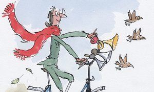 Mrs Armitage illustration by Quentin Blake