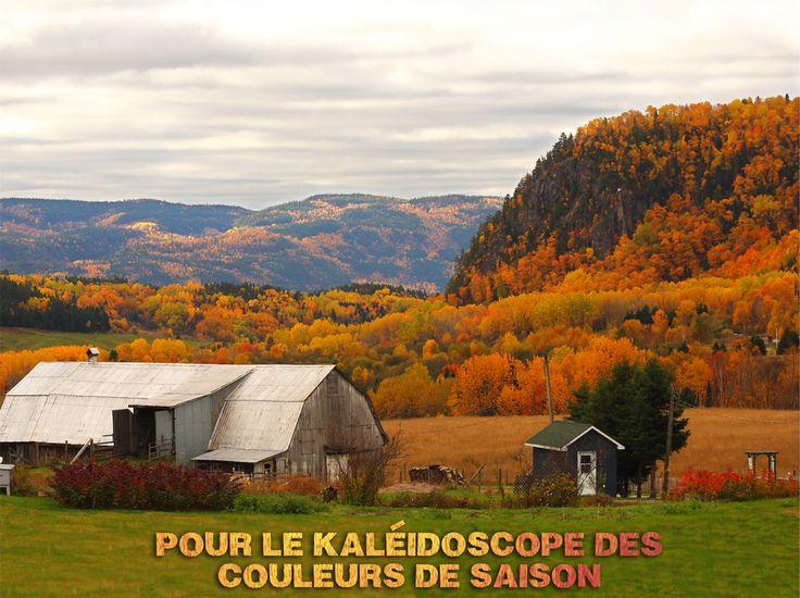 Raison 122 de visiter le #Saguenay_Lac : pour le kaléidoscope des couleurs de saison. #175raisons