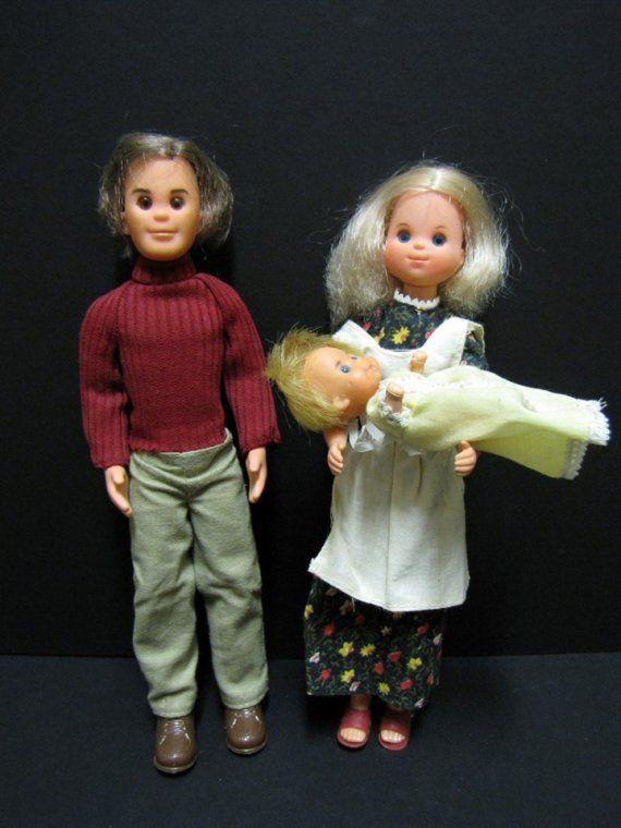 1970's Sunshine Family Dolls. Had no idea they were an