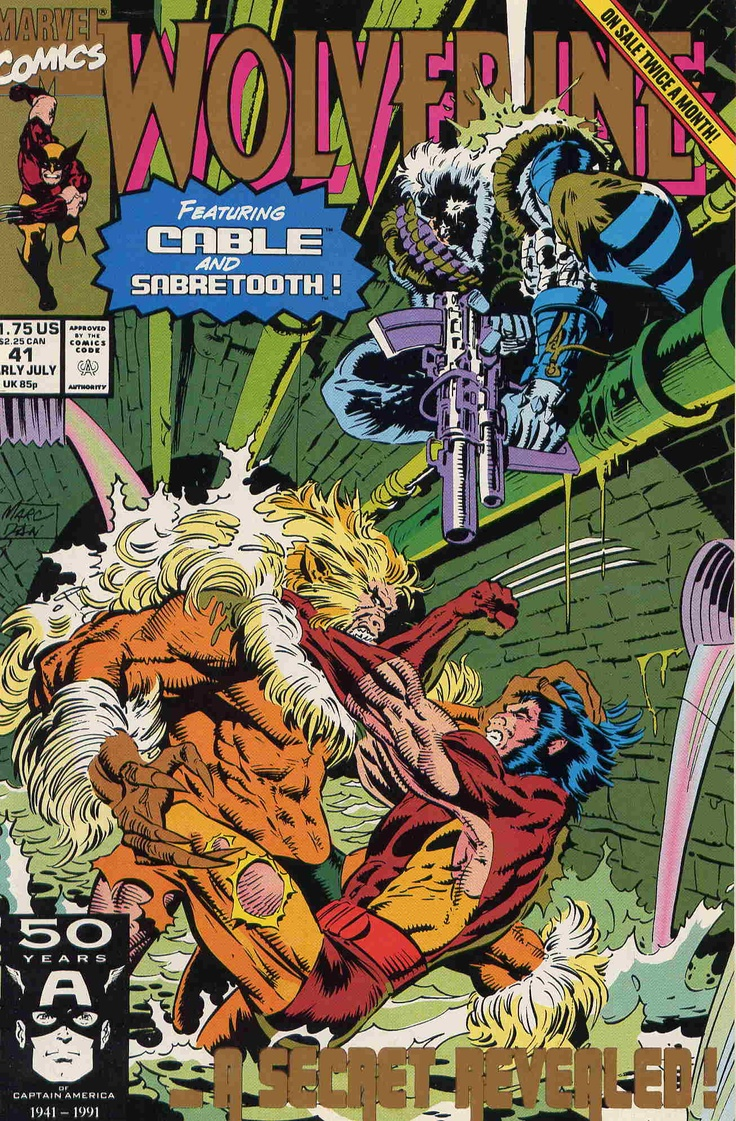 Marc Silvestri cover Wolverine #41